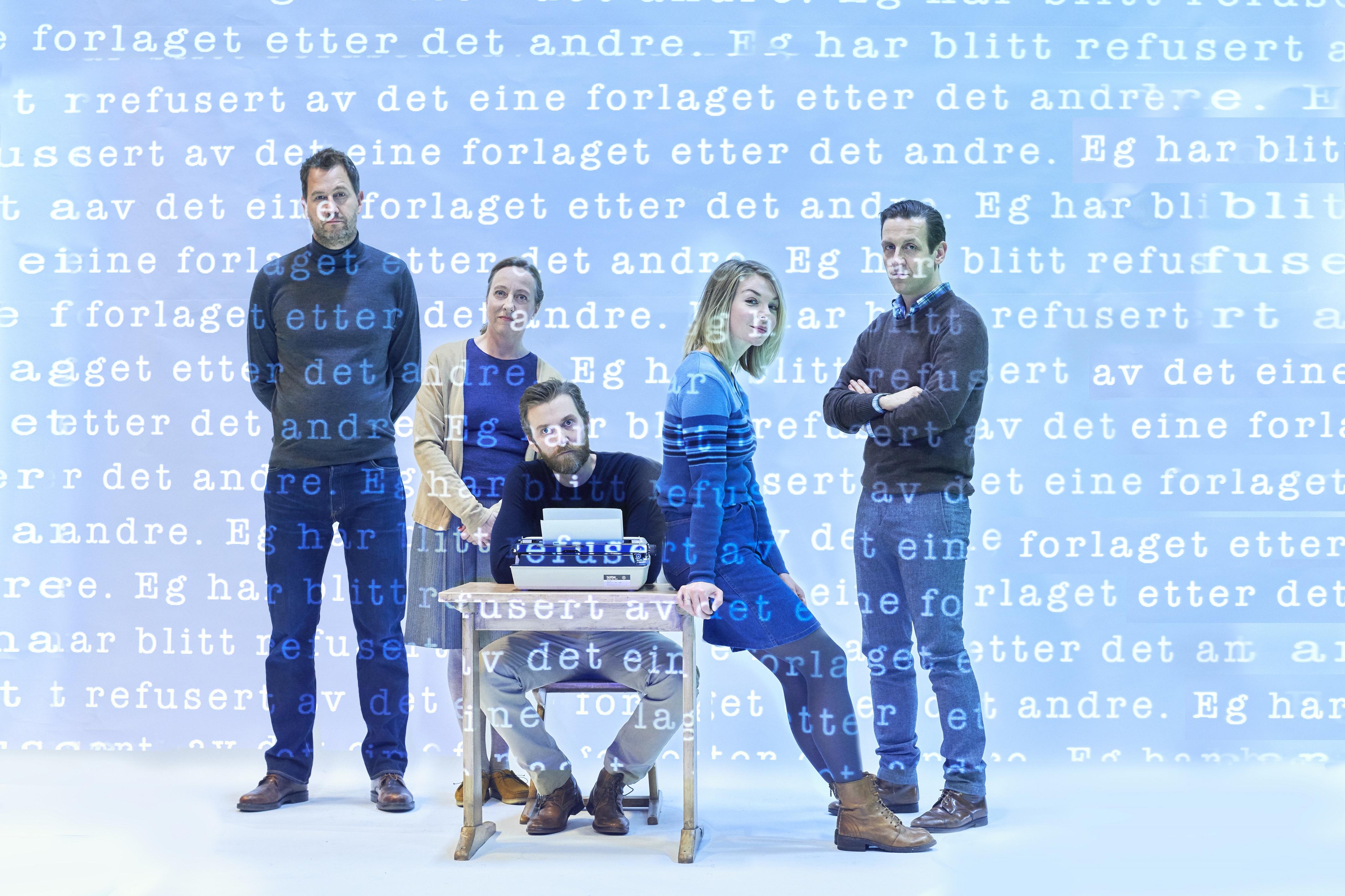 Fra venstre: Henrik Rafaelsen, Ågot Sendstad, Nils Golberg Mulvik, Marte Engebrigtsen og Ole Johan Skjelbred.